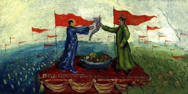 Мао Цзедун и Иосиф Сталин / Магазета