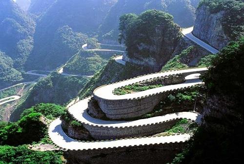 10 самых опасных дорог Китая