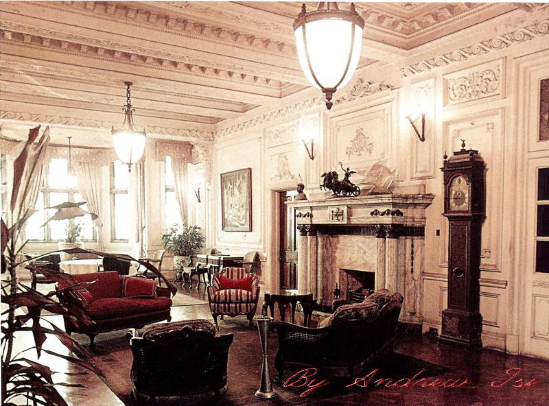 Гостиная в Юстоне, 1940-е годы