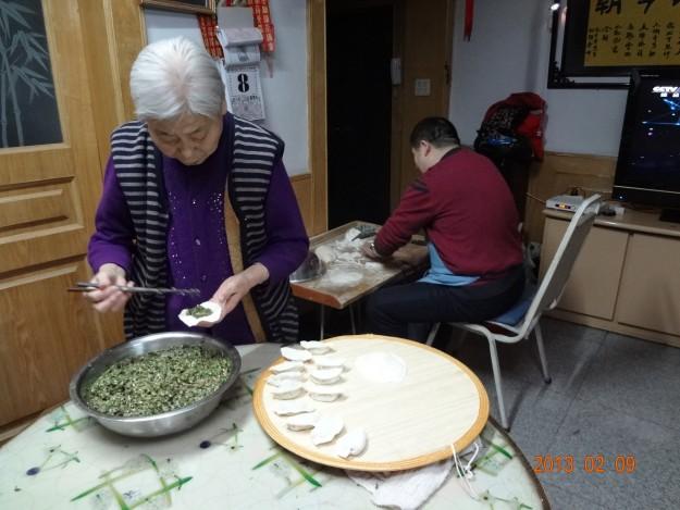 Последние приготовления к китайскому Новому году