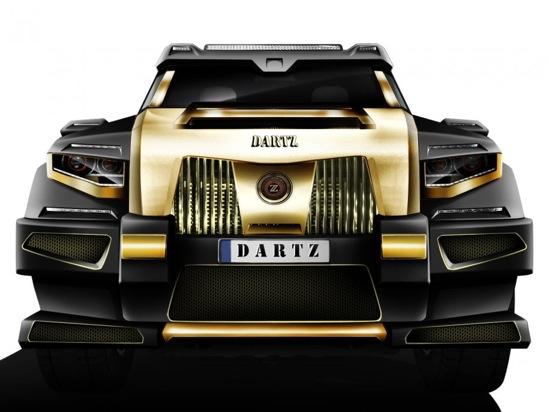 Уникальный автомобиль от производителя танков за 1 млн долларов продается в Китае