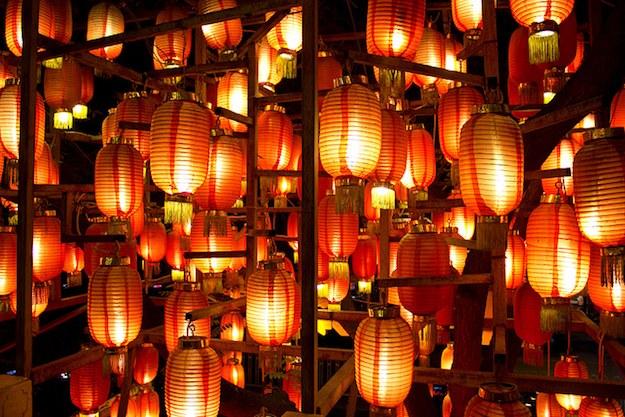 Традиционные развлечения в китайский Новый год