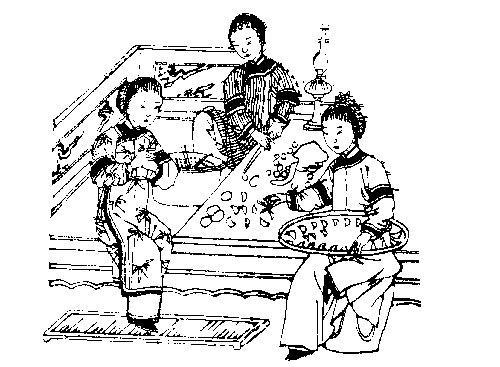 Пельмени на китайский новый год