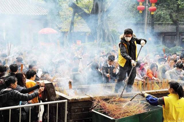 Обряды первой декады нового года в Китае