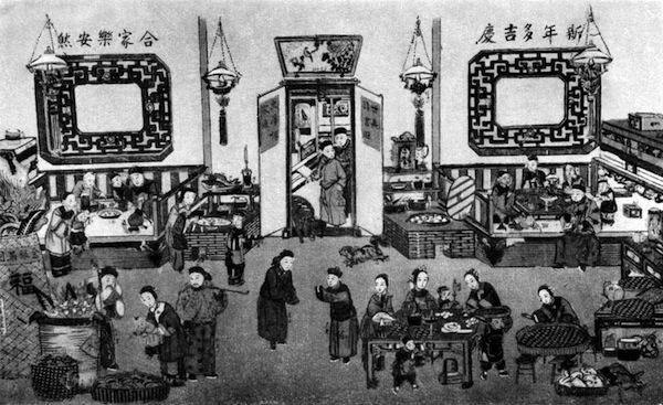 Убранство дома в китайский Новый год