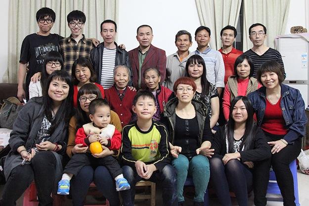Семья Лу - проект Семьи Мира, Китай
