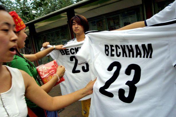 Бэкхем стал послом китайского футбола