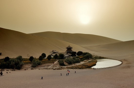 Оазис Дуньхаун (Dunhuang)