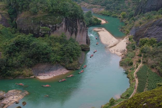 武夷山天游 В поисках природной красоты или путешествия по Фуцзяни