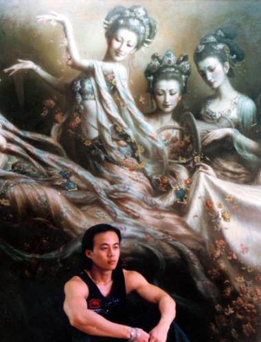 Китайский художник Цзэн Хао (Zeng Hao)