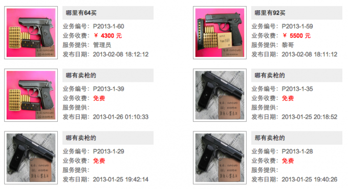 Как купить боевое оружие в Китае. Инструкция