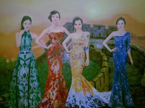 """Выбрана новая """"четверка великих красавиц Китая"""""""