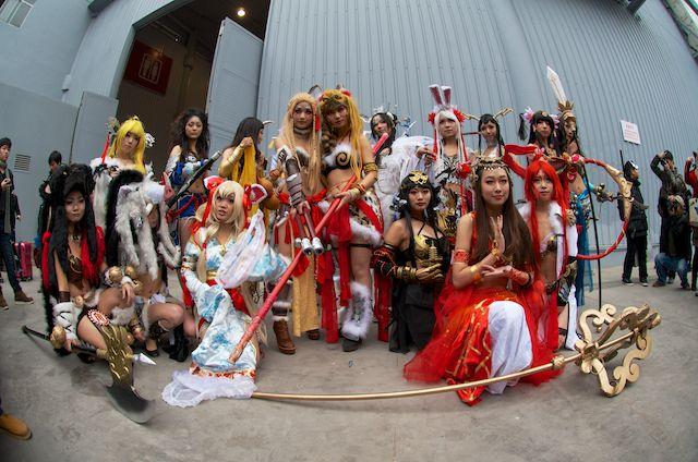 Китайский косплей и аниме-фестивали в Чэнду