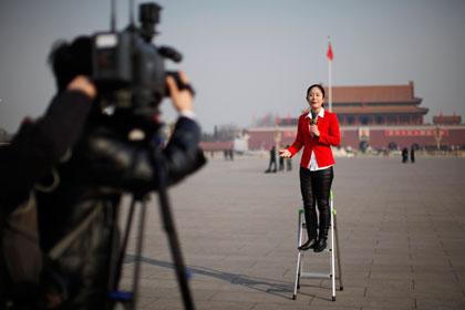 Китайским журналистам запретили цитировать зарубежные СМИ