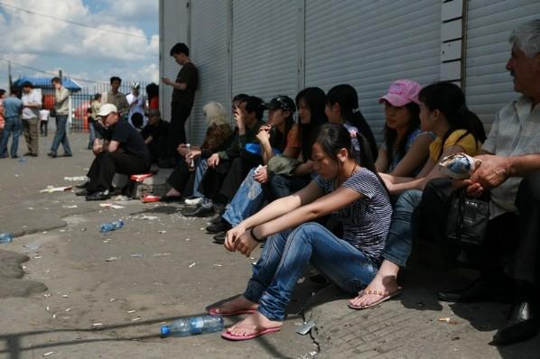 Торговцы с Черкизовского заполонили «Москву»