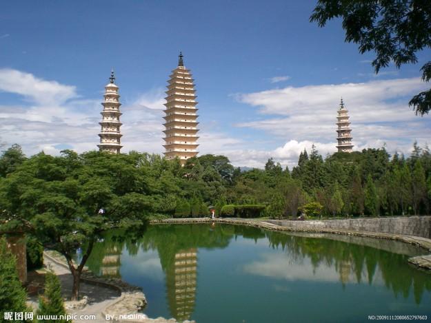Дали. Главный туристический брэнд Юньнани - Три пагоды