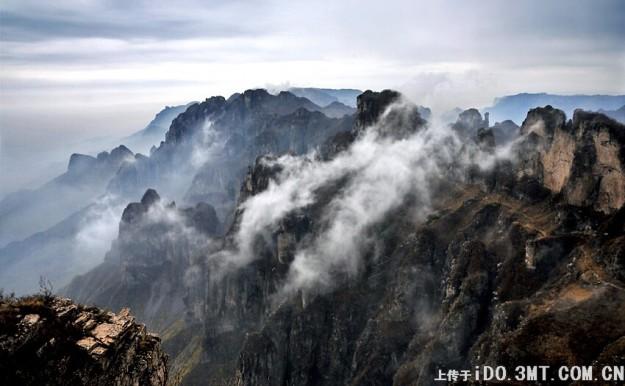 Горы Тайханшань — классический китайский пейзаж