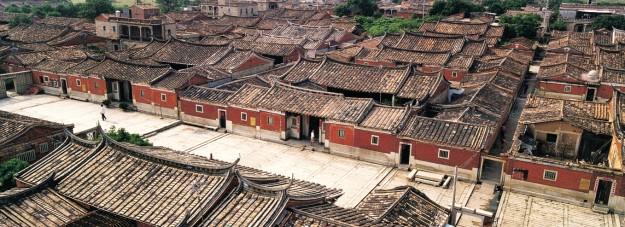 «Миньский» вид традиционной китайской архитектуры