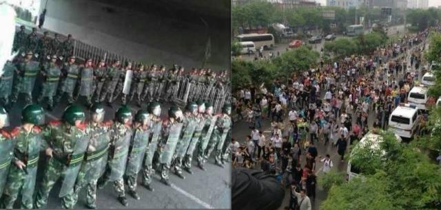 В Пекине прошли протесты против произвола полиции в деле об изнасиловании