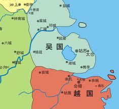 Граница между древними царствами У и Юэ