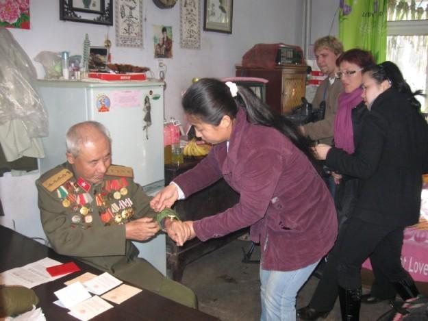 Ветеран легендарной 88-й китайской бригады Чжан Чжэн-Энь