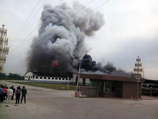 Взрыв на Цзилиньской птицефабрике унес жизни 113 человек