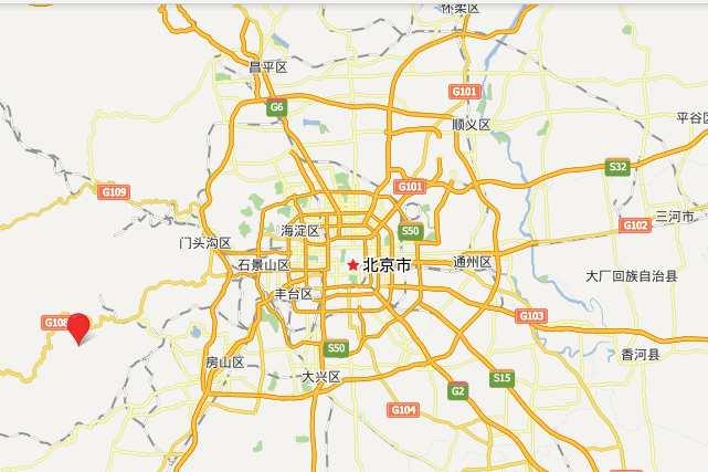 Китайская деревня недалеко от Пекина map