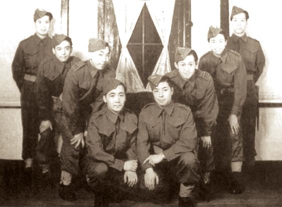 Китайские солдаты в Канаде