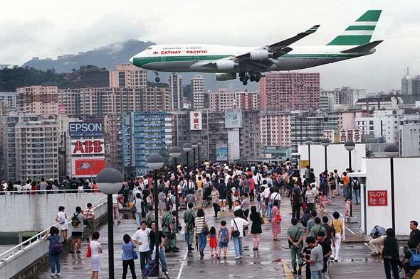 Аэропорт Kai Tak в Гонконге / Магазета Hong-Kongs-Kai-Talc-airport