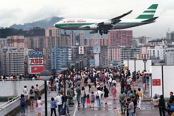 Аэропорт Kai Tak в Гонконге / Магазета Hong-Kongs-Kai-Talc-airport