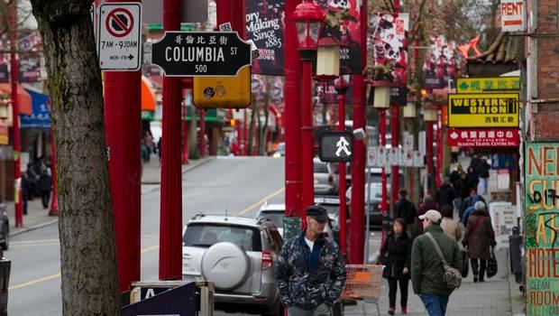 Китайский чайнатаун в Ванкувере, Канада