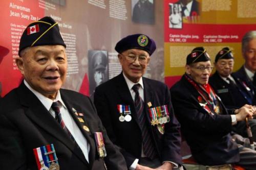 Китайские ветераны в Канаде