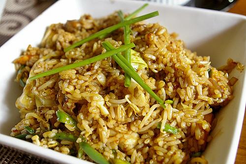 rice с морепродуктами