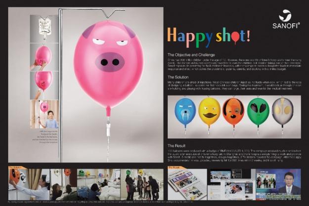 Publicis Shanghai разработало новый дизайн для детских капельниц