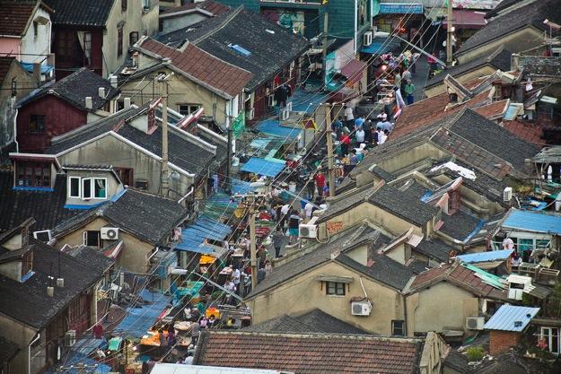 Крыши и базар