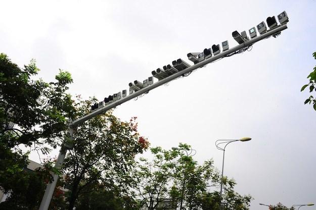 Камеры наблюдения в Шанхае