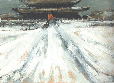 Ян Юйшоу. Императорская молельня. 1971