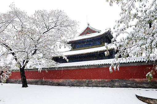 """Ледовые дороги помогли китайцам построить """"Запретный город"""""""