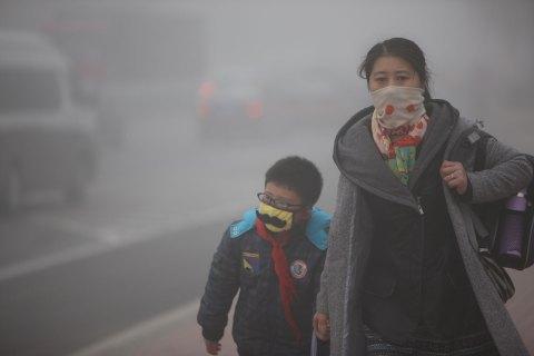 Смог в Китае вызвал рак легких у восьмилетнего ребенка