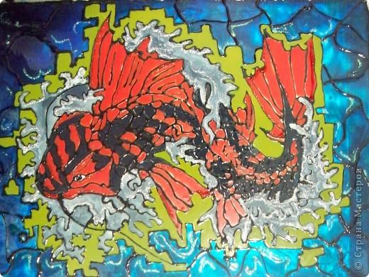 Карп-дракон - японский морской бог