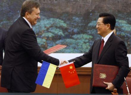 Янукович в Китае