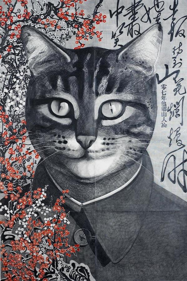 """""""Портрет Мяо"""", Цю Цзе, 2007"""