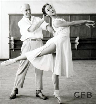 Первые па китайского балета / Магазета