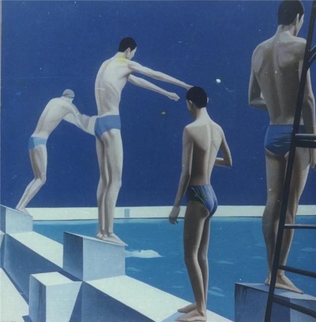 """Чжан Пэйли """"Пловцы"""" (1983)"""