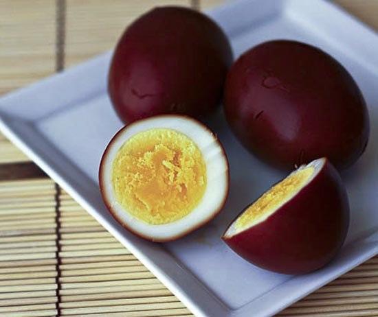 Яйца, маринованные по-китайски