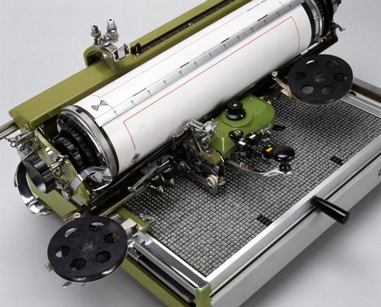 Печатающие машинки для языков Восточной Азии: торжество чистой механики