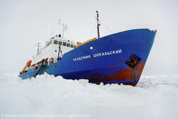 """Китайский спаситель """"Шокальского"""" сам застрял во льдах Антарктики"""