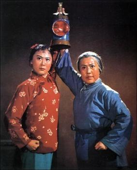 """Один из """"образцовых спектаклей"""" - """"Легенда о красном фонаре"""". Премьера в 1963 г."""