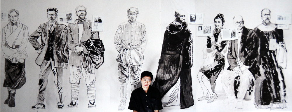 Лоу Шань: путь реалиста / Китайские художники в Магазете