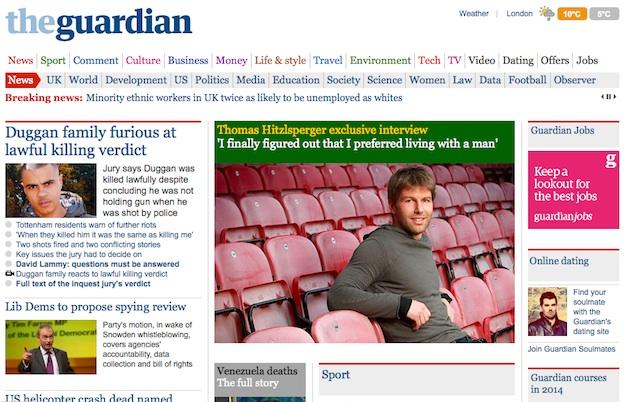 Китай заблокировал доступ к сайту газеты Guardian. Фейк?